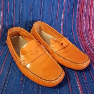 Women's Cole Haan Orange loafers Size 8